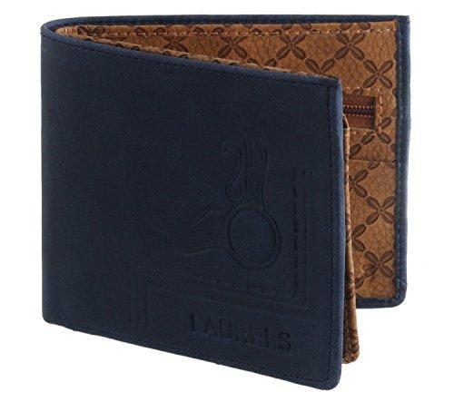 Laurels Viking Blue Men's Wallet (VK-0708)