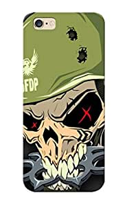 New Snap-on Improviselike Skin Case Cover Compatible With Iphone 6 Plus- Five Finger Death Punch Logo