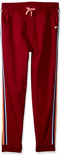 Lucky Brand Big Girls' Track Pant, Calix Biking Red, X-Large by Lucky Brand