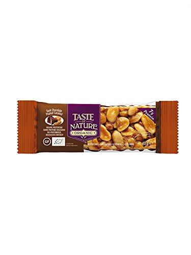 Taste Of Nature, Barrita de cereal (Chocolate, Caramelo) - 16 de 40 gr. (Total 640 gr.): Amazon.es: Alimentación y bebidas