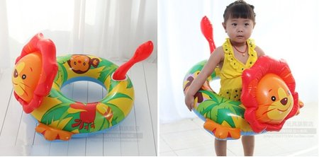 baby-kids-toddler-inflatable-swimming-swim-ring-float-seat-boat-pool-bath-safety-lion
