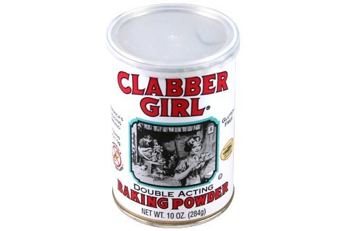 Clabber Girl Baking Powder, 8.1-Ounce Packages (Pack of 8)