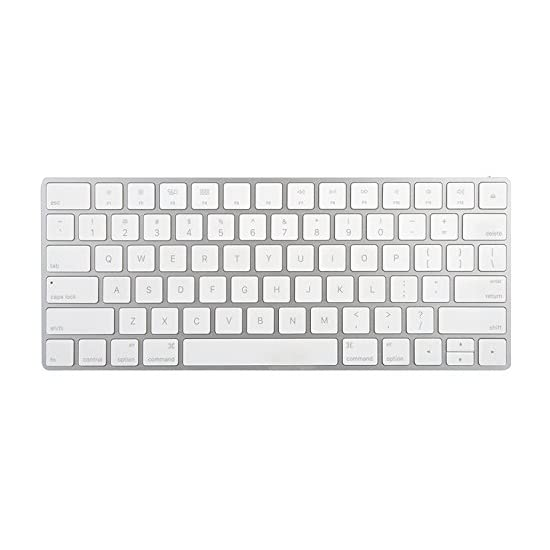 3d5e9e5f3cd Apple Wireless Magic Keyboard 2, Silver (MLA22LL/A) – Certified ...
