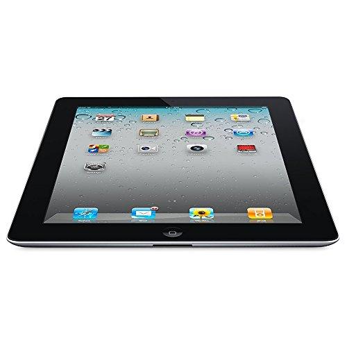 Apple iPad 2 MC769LL/A Tablet ( iOS 7,16GB, WiFi) Black 2nd Generation - (Certified Refurbished)