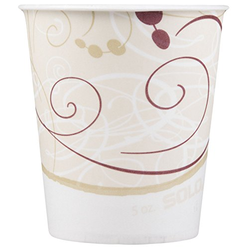 Dart Solo R53-J8000 Symphony 5 oz. Wax Treated Paper Cold Cup - 3000/Case by Dart Solo