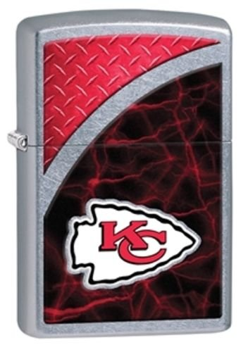 Engraving Kansas City - Latest 2016 Style Personalized Zippo Lighter NFL - Free Laser Engraving … (KANSAS CITY CHIEFS)
