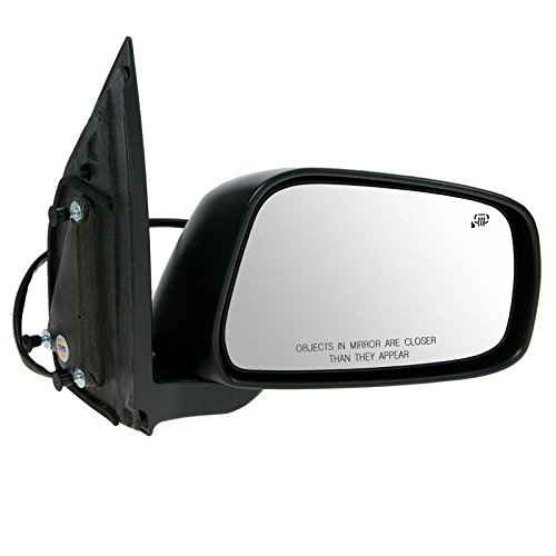 Mirror Power Heated Smooth Passenger Side Right RH for Nissan Frontier Xterra ()