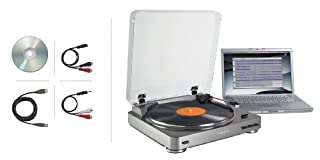 Audio-Technica AT-LP60USB Fully Automatic Belt Driven Turntable with USB Port by Audio-Technica (B00803FN88) | Amazon price tracker / tracking, Amazon price history charts, Amazon price watches, Amazon price drop alerts