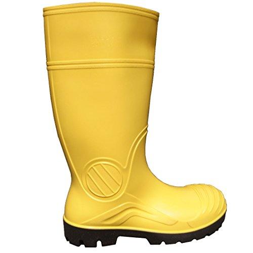 PVC Stiefel Arbeitsstiefel S5 Sicherheitsstiefel Gummistiefel S5 Yellow