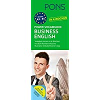 PONS Power-Vokabelbox Business English in 4 Wochen: 800 Vokabelkarten plus Wortschatztrainer-App