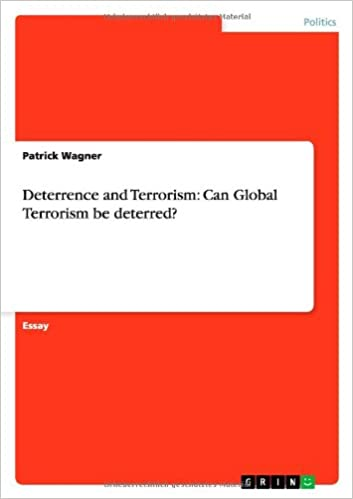 buy deterrence and terrorism can global terrorism be deterred book  deterrence and terrorism can global terrorism be deterred paperback   import  nov