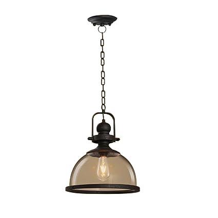 QEQ Vintage lámpara de Techo Colgante de Cristal Colgante de ...