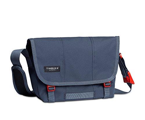 Timbuk2 Flight Classic Messenger Bag, Granite/Flame, XS, Granite/Flame, x Small