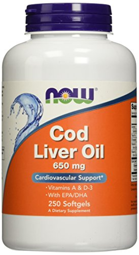 NOW Cod Liver Oil Softgels