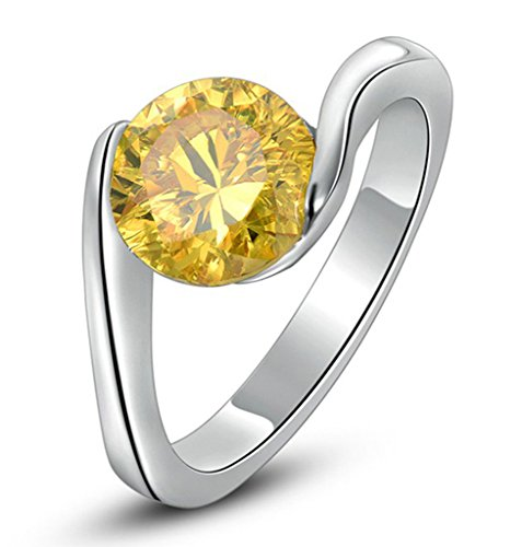 Yellow Promise Ring - 9