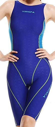 7b0b6922420bb YingFa One Piece Racing and Training Swimsuit Kneeskin Swimsuit Women Size  12-14 /Speedo