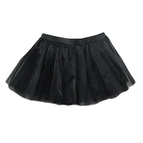 So Sydney Running Skirt - Teen or Adult Size Princess Costume Ballet or Race Tutu - Skirt Black Running