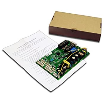 amazon com ge wr55x10942 refrigerator main control board home refrigerator main control board for ge wr55x10942 1 control board