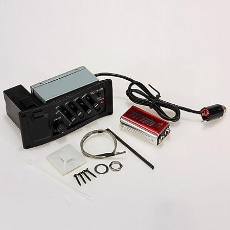 4 Band EQ 7545R Piezo Previo Amplificador Ecualizador sintonizador ...