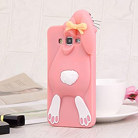 low priced 2814b d928f Buy 3D Cartoon Soft Silicone Back Cover Case for Samsung J5 Prime ...