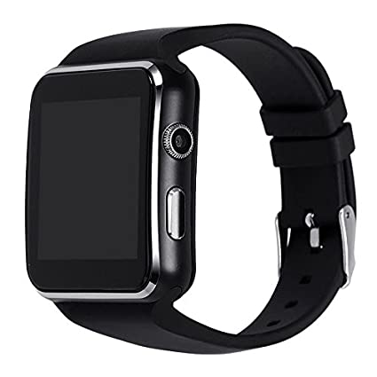 Amazon.com : X6 OGS Smart Watch Capacitive Touch Screen ...