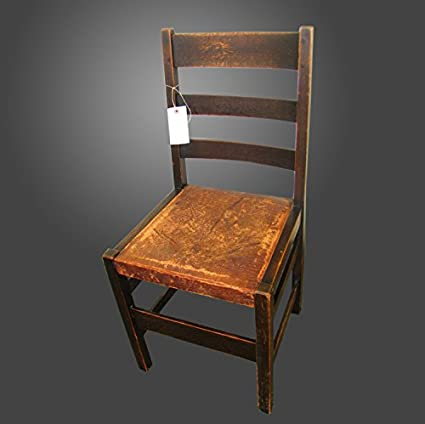 Antique Great Looking L&jG Stickley Side Chair w2469 - Amazon.com - Antique Great Looking L&jG Stickley Side Chair W2469