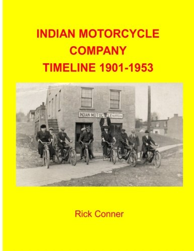 (Indian Motorcycle Company Timeline 1901-1953)