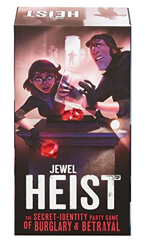 Jewel Heist Team Strategy Game, Mystery Role-Play Social Deduction Game for Adults, Family and Kids 13 Years Old and Up