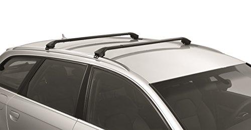 Multi-Fit Roof Rack for Flush Railings/Modula Cross Bars (Black) ()