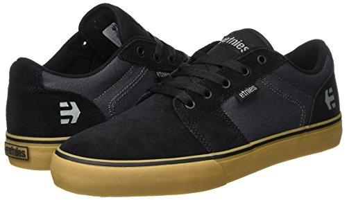 Pour Gomme Gris De Chaussures Barge Fonc Skate Noir noir Ls Etnies Homme wXwUPOdfqz