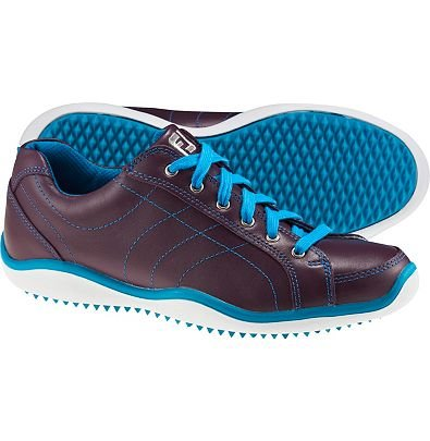 FootJoy Women's Lopro Casual Spikeless Golf Shoes Plum Size 6.5 M US