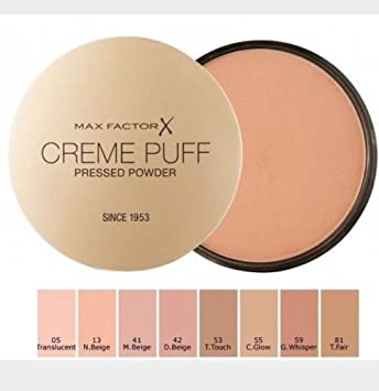 7168ea6b16d0e MAX FACTOR Creme Puff Face Foundation Make Up