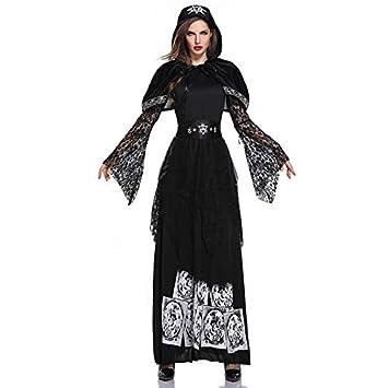 Cosplay De Vampiro, Fantasma Femenino, Vestido De Disfraz De Bruja ...