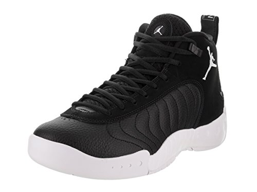 Jordan Nike Mens Jumpman Pro Zwart / Wit Basketbalschoen 10,5 Mannen Ons Zwart Wit