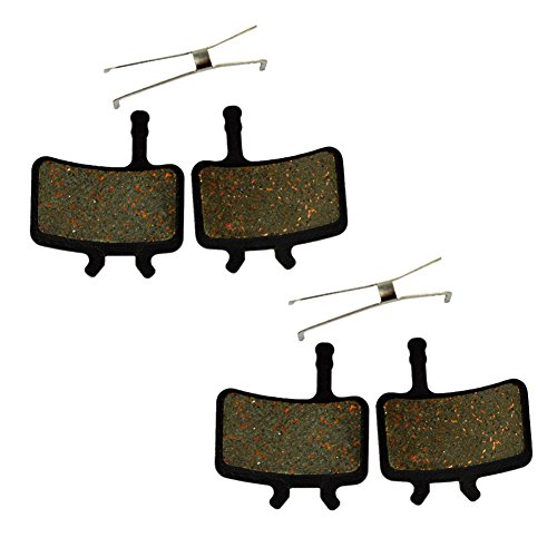 AHL Bicycle Semi-metallic Disc Brake Pads for AVID Juicy Carbon / Juicy 3 / Juicy 5 / Juicy 7 / BB7 (2 Pairs) ()
