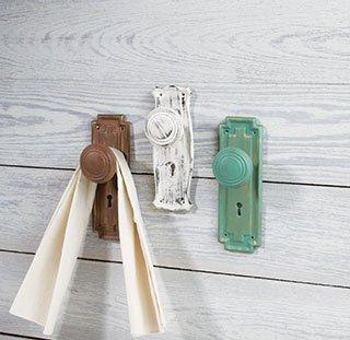 Resin Western Doorknobs - Set of 3