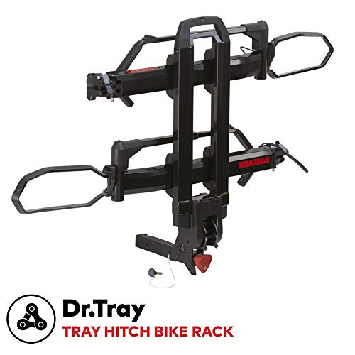Yakima - Dr.Tray Hitch Mounted Tray Rack for Bikes, 2""