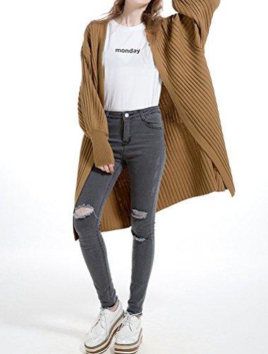 MatchLife - Cárdigan - para mujer Style 2-Camel