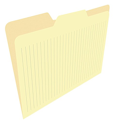 Note File (Find It FT07315 Ruled File Folders, Take Notes on Folders, Letter Size, 9.6 x 11.8 x 1 Inches, 50-Pack, Manila)