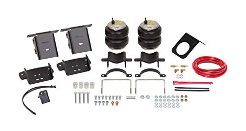Firestone Ride-Rite 2604 Ride-Rite Air Helper Spring Kit Rear Incl. Air Helper Springs Supports Hardware Air Line And Inflation Valves No Drilling Required Ride-Rite Air Helper Spring Kit