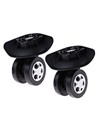 Fityle Universal Furniture Cabinet Chair Trolley Rotation Swivel Caster Wheels 2pcs