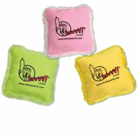 Yeowww! Catnip Pillow Pink -