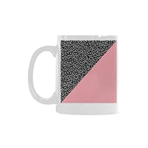 Pop Art Pattern Personalized Funny Healthy Ceramic Classical White Mug, Coffee,Water,Tea Cup for Women/Men
