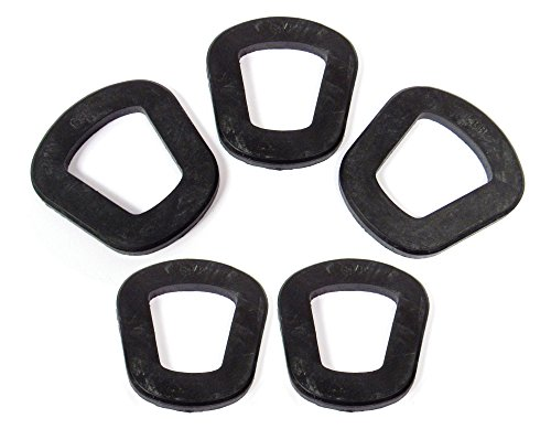 Pack of 5 Wavian GJC99 4.8mm Jerry Can Gasket - Replacement Rubber Seals for Jerry Cans