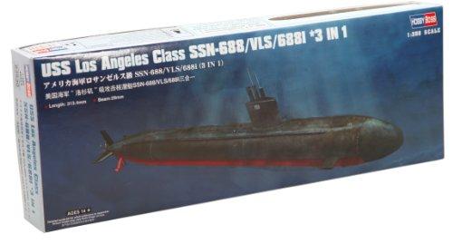Hobby Boss USS Los Angeles Class SSN-688/VLS/688I 3-in