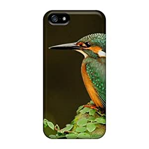 Durable Case For The Iphone 5/5s- Eco-friendly Retail Packaging(pearl Of Nature The Kingfisher)