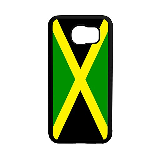 Price comparison product image Jamaica Flag Galaxy s6 Edge Hybrid Rubber Protective Case