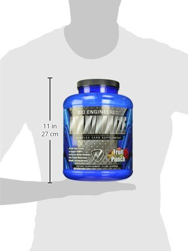 New Whey Nutrition Waximaize Complex Carb Supplement, Fruit Punch, 5 lbs