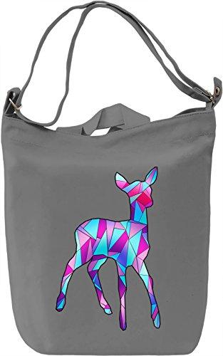 Geometric Roe Borsa Giornaliera Canvas Canvas Day Bag| 100% Premium Cotton Canvas| DTG Printing|