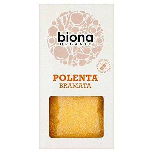 Biona Organic Polenta Bramata 500g - Pack of 2